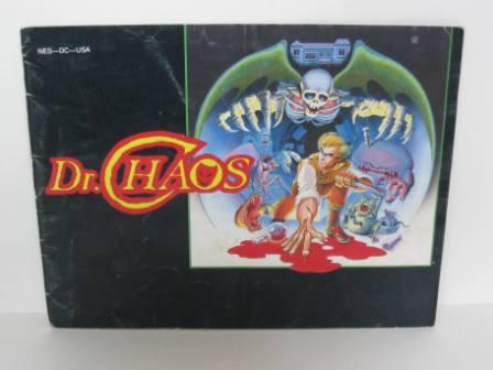 Dr. Chaos - NES Manual