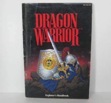 Dragon Warrior (Explorers Handbook) - NES Manual