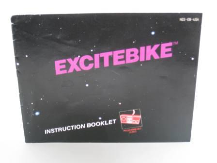 Excitebike - NES Manual