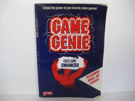 Game Genie Video Game Enhancer Codebook - NES Manual