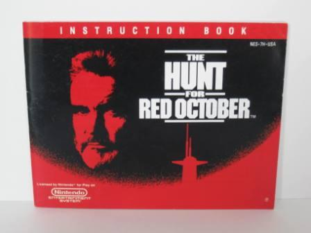 Hunt for Red October, The - NES Manual