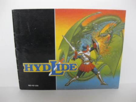 Hydlide - NES Manual