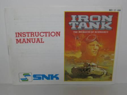 Iron Tank - The Invasion of Normandy - NES Manual
