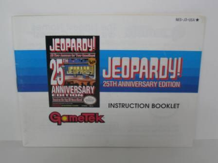 Jeopardy! 25th Anniversary Edition - NES Manual