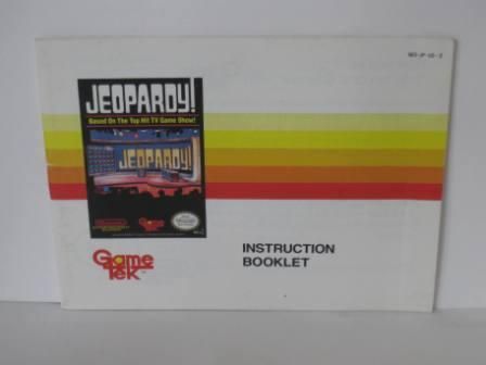 Jeopardy! - NES Manual