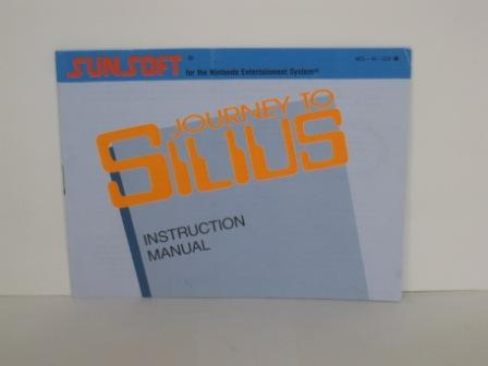 Journey to Silius - NES Manual