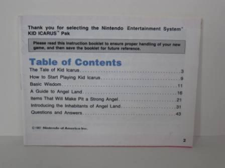 Kid Icarus - NES Manual