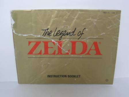 Legend of Zelda, The - NES Manual