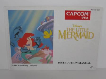 Little Mermaid, The, Disneys - NES Manual