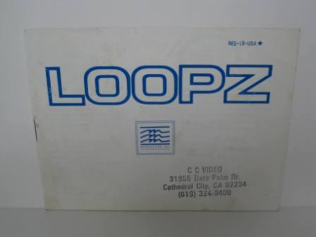 Loopz - NES Manual