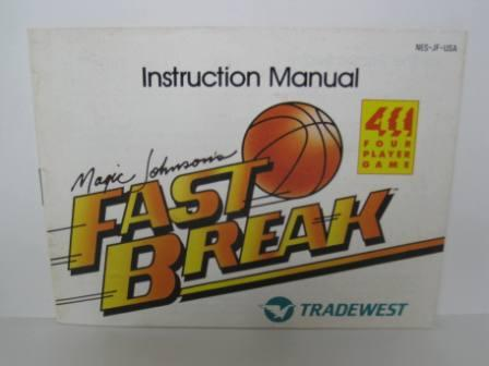 Fast Break, Magic Johnsons - NES Manual