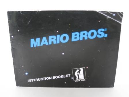 Mario Bros., The Original - NES Manual