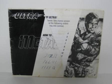 Metal Gear - NES Manual