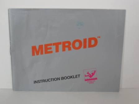 Metroid (Silver Label) - NES Manual