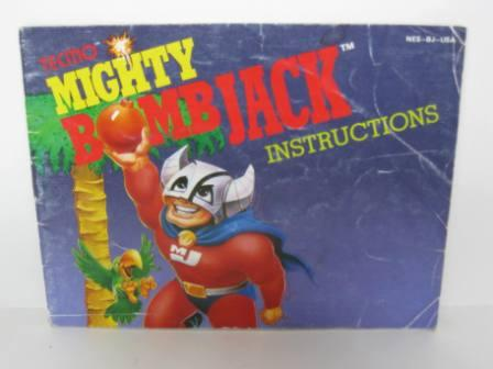 Mighty Bombjack - NES Manual
