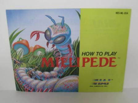 Millipede - NES Manual