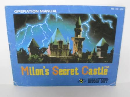 Milons Secret Castle - NES Manual