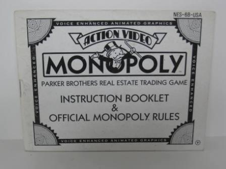Monopoly - NES Manual