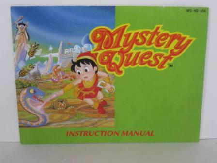 Mystery Quest - NES Manual