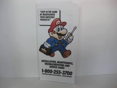 NES Installation Maintenance Service Guide - NES Manual