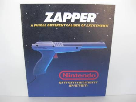 NES Zapper (Grey) - NES Manual