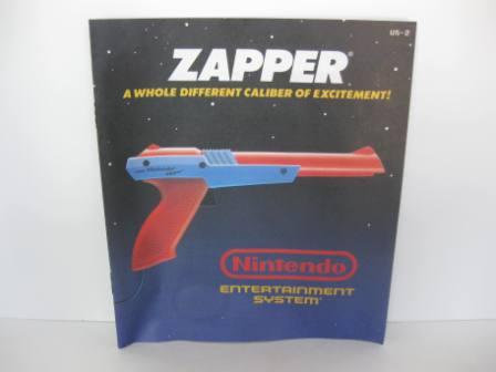 NES Zapper (Orange) - NES Manual