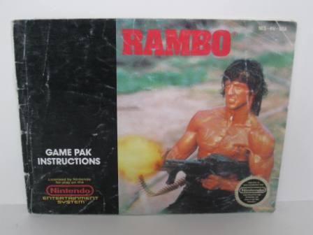 Rambo - NES Manual
