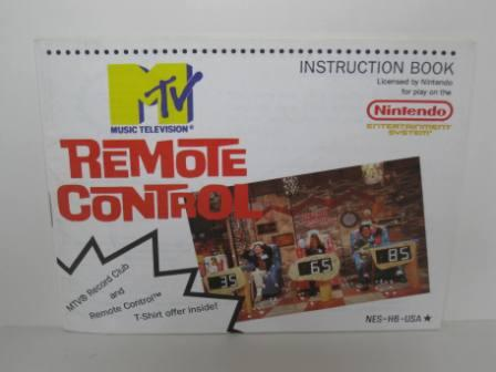Remote Control - NES Manual
