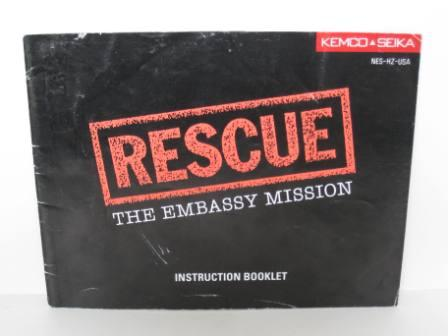 Rescue: The Embassy Mission - NES Manual