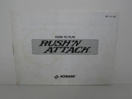 Rush N Attack - NES Manual