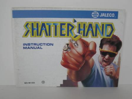 Shatterhand - NES Manual