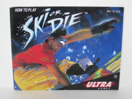 Ski or Die - NES Manual