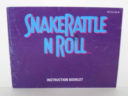 Snake Rattle N Roll - NES Manual