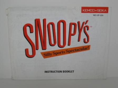 Snoopys Silly Sports Spectacular! - NES Manual