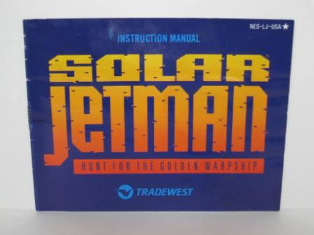 Solar Jetman: Hunt for the Golden Warpship - NES Manual
