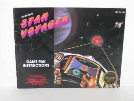 Star Voyager - NES Manual