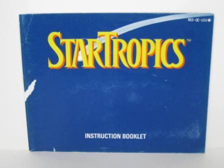 Star Tropics - NES Manual