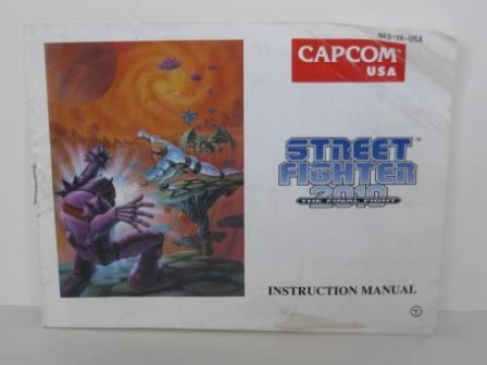 Street Fighter 2010 - The Final Fight - NES Manual