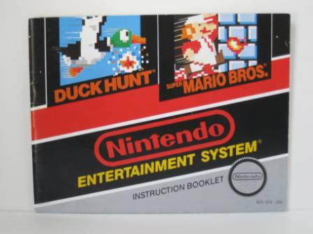 Super Mario Bros. / Duck Hunt - NES Manual