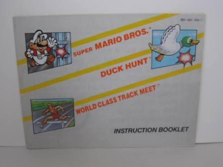 Super Mario/World Class Track Meet/Duck Hunt - NES Manual