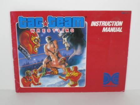 Tag Team Wrestling - NES Manual