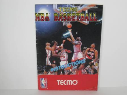 Tecmo NBA Basketball - NES Manual