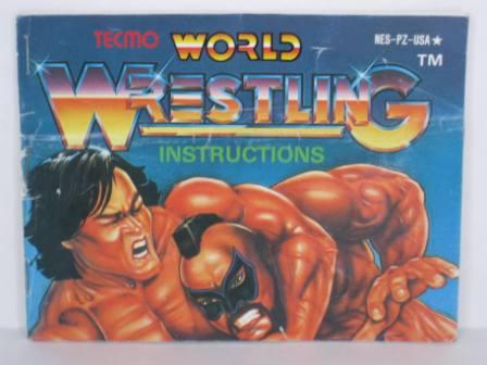 Tecmo World Wrestling - NES Manual