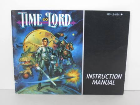 Time Lord - NES Manual