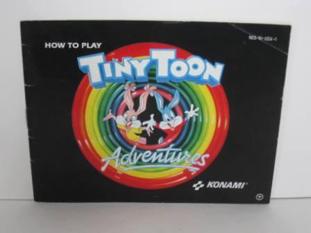 Tiny Toon Adventures - NES Manual