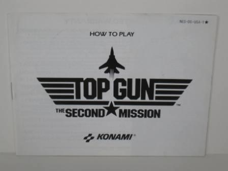 Top Gun: The Second Mission - NES Manual