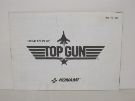 Top Gun - NES Manual