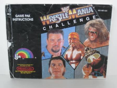 WWF Wrestlemania Challenge - NES Manual