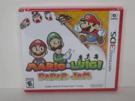Mario & Luigi: Paper Jam (SEALED) - Nintendo 3DS Game