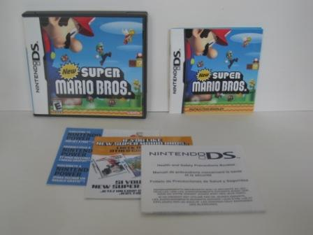New Super Mario Bros. (CASE & MANUAL ONLY) - Nintendo DS